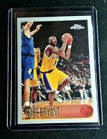 KOBE BRYANT RC 1996-97 Topps Chrome RP Rookie #138 LAKERS HOF Novelty