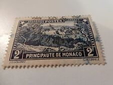 MONACO;  1924-39 early definitive issue Mint hinged 2F.