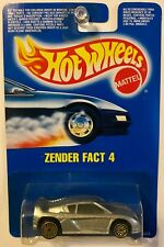 Hot Wheels #125 Zender Fact 4 Gold Ultra Hot wheels International Card - RARE