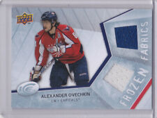08-09 UD Ice Alex Ovechkin Dual Jersey Frozen Fabrics Capitals 2008