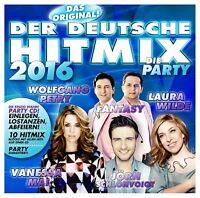 DER DEUTSCHE HITMIX-DIE PARTY 2016  CD NEU VANESSA MAI/WOLFGANG PETRY/