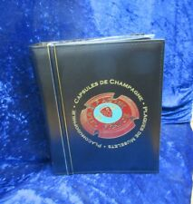 R1034 Leuchtturm Champagner-Album Vario,mit 5 Hüllen für 175 Champagner Deckel