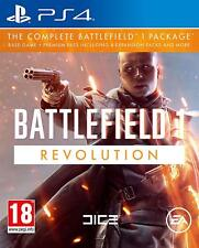 PS4 Juego Battlefield 1 Revolution Edition Principal + Premium Pass 4 Add On ´S