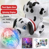 Kinder Hund Spielzeug Dog LED 3D Licht Musik Elektrisches Spielzeug Gehen Lustig