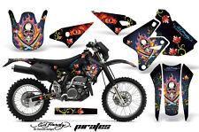 Dirt Bike Graphics Kit Decal Sticker Wrap For Kawasaki KLX400 00-16 EDHP BLACK