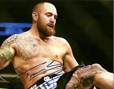 Travis Browne Hand Signed 8x10 Photo Autograph UFC MMA