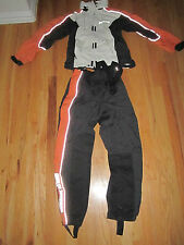 HARLEY DAVIDSON RACING SUIT - SIZE XS - DURABLE NYLON - VELCRO EVERYWHERE - NICE