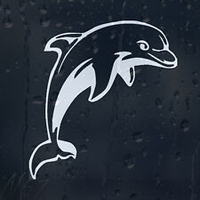 Friendly Dolphin For Car Or Laptop Decal Vinyl Sticker Colour Choice