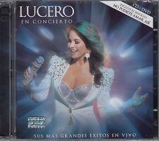 Lucero en Concierto CD+DVD New sealed Nuevo