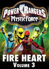 POWER RANGERS MYSTIC FORCE: VOLUME 3 THREE - FIRE HEART DVD Fireheart