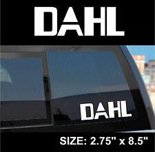 "Borderlands 2 / Pre-Sequel ""Dahl"" Gun Manufacturer Sticker Decal"