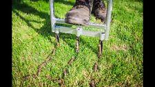 Aerifizierer Vertikutierer Nagelschuh Rasen Lüften Rasenmäher Dünger Mistgabel