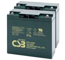 CSB 12V 20AH Pair Mobility Scooter Sealed Lead Acid Batteries EVX12200 Battery