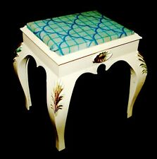 Vintage Pedigree Sindy Dressing Table Stool Checked Pattern