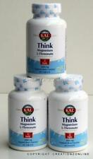 3 Bottles KAL Magnesium L Threonate Magtein 2000 mg TOTAL 180 Tablets