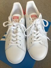 16b90da86 adidas stan smith white With Red Details Women US 7 Man US 6 EURO 38 2