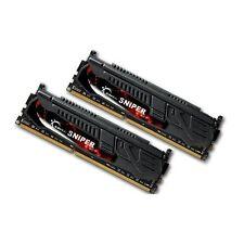 G.Skill Sniper 8GB 2X4GB Dual Channel DDR3 1600MHz PC3-12800 DIMM Desktop