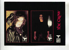 The Crow Promo Uncut Card Sheet Prototype Previews Kitchen Sink Brandon Lee
