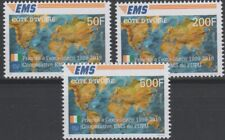 2019 Joint Issue EMS 20 years Ivory Coast Côte d'Ivoire stamp set