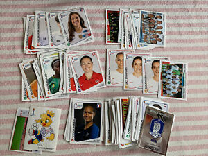Panini France Womens World Cup 2019 129 Different Stickers Bundle Carli Lloyd ++