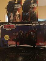 Star Wars The Vintage Collection Carbon Freezing Chamber POTF Vader Stormtrooper