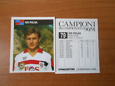 16 Figurine Cagliari Campione Italia edizione 1971-72 Album