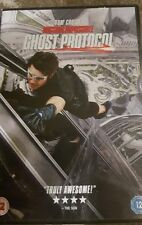 MISSION IMPOSSIBLE GHOST PROTOCOL DVD SEALED TOM CRUISE