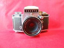 EXAKTA Exakta Varex 2a IIa Kamera mit OBJEKTIV Tessar 2,8/50 mm Carl Zeiss Jena