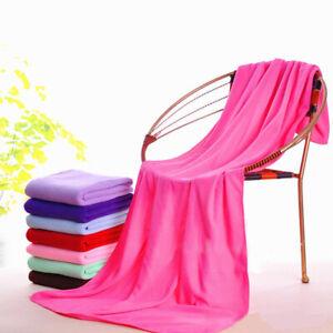 1PC Fiber Quick Drying Microfiber Bath Towels Large Beach Absorbent Towels Soft