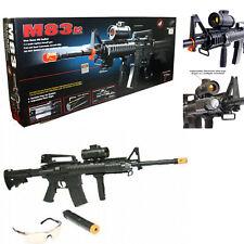 Air Soft Double Eagle M4 AEG Electric Assault Rifle m83A2 M83 Gun BLACK