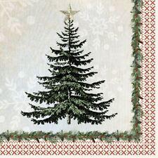 Crema Verde Papel Árbol Paquete de 20 servilletas papel 33cm x 33cm