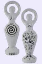 Spiral Goddess Statue by Abby Willowroot Two Sided