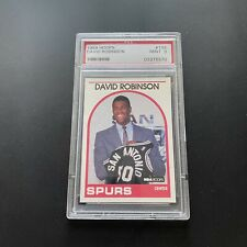 David Robinson Rookie Card RC 1989 Hoops No 138 PSA 9 Mint Hall Of Fame! A GOAT!