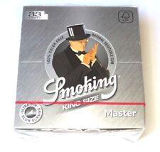 3 Boxen SMOKING MASTER - 50 Heftchen mit je 33 Papers Blättchen King Size KS SMK