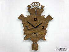 Cats Modern Cuckoo clock - Wooden Wall Clock