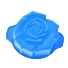 3D Silicone Rose Flower Fondant Cake Decorating Mold Chocolate Bakeware