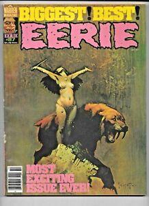 Eerie #87 October 1977 Warren Frazetta Bermejo Corben FN Heavy Metal Artists