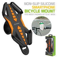 Bike Phone Mount Universal Bicycle Holder Mount Orange