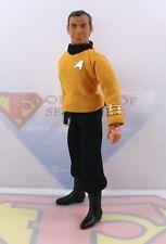 "1974 Mego 8"" T2 Star Trek Action Figure- Captain Kirk ~All Original, Foil ~MINTY"