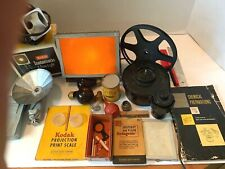 Kodak Vintage Darkroom Camera Film Equipment Brumberger Viewer Movie Light Tank