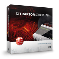 Native Instruments Traktor Scratch A6 Digital Timecode Vinyl and CD System