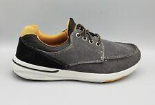 SKECHERS Men's Relaxed Fit Elent Mosen Canvas Sneaker Size  9