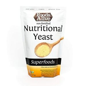 Nutritional Yeast Flakes Non-Fortified Fiber Based Protein Vegan Cheese Diet