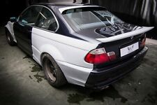 BMW E46 Coupe Rear Roof Spoiler DRIFT STANCE