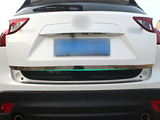 Stainless Rear Tail Gate Molding Trim Cover 1pcs For Mazda CX-5 CX5 2012 -2016