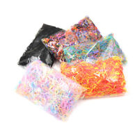 4000Pcs Mixed Color Baby Girls TPU Rubber Hair Bands Holders Elastics Tie Gum Fy