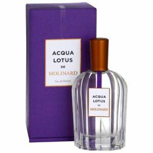 Acqua Lotus De Molinard 90ml EDP FREE P&P