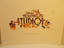 "Disney Hollywood Studios 2008 ""Hooray For Our New Middle Name"" LE Lithograph c"