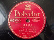 Andre Claveau Jo Boyer GiGi / Valser avec ton Souvenir Polydor 560.229 VG++