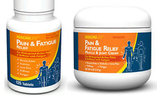 MagniLife Pain & Fatigue Relief Tablets and Cream Set